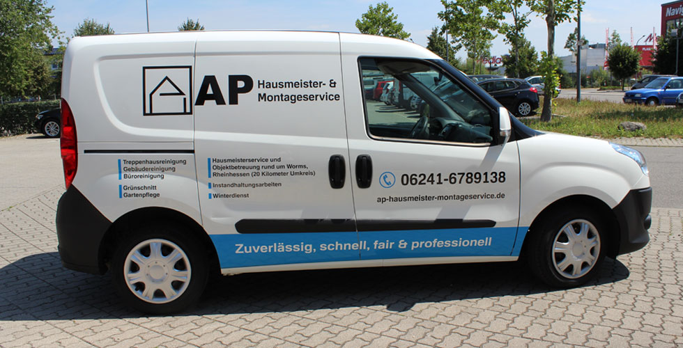 Ap Hausmeister & Montageservice aus Worms.